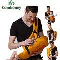 Comhoney Baby Carrier ergonómico Re espera bebé mochila de espalda para el cuidado del bebé Toddler Sling canguro tirantes bebé tirantes para recién nacido