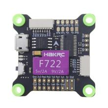 HAKRC F722 Flight Control Integrated 5V 9V Dual BEC Built in OSD Controller 3 9S for RC Racer Drone FPV Quadcopter DIY  Aircraft