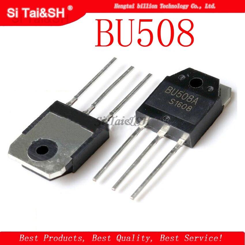 10pcs/lot BU508 TO247 BU508A TO-247 New Original