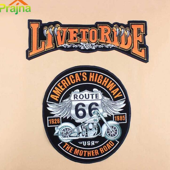 motorcycle patches large