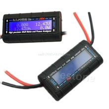 G.T.POWER RC 130A Watt Meter and Power Analyzer High Precision LCD 60V GT-Power #L057# new hot
