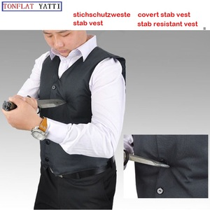 self-defense Soft covert stab vest 16-layer high-performance polyethylene and aramid fiber mixed cut resistant stichschutzweste
