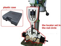 Locator Set Of Bench Drill For Mortising Chisels With Plastic Case