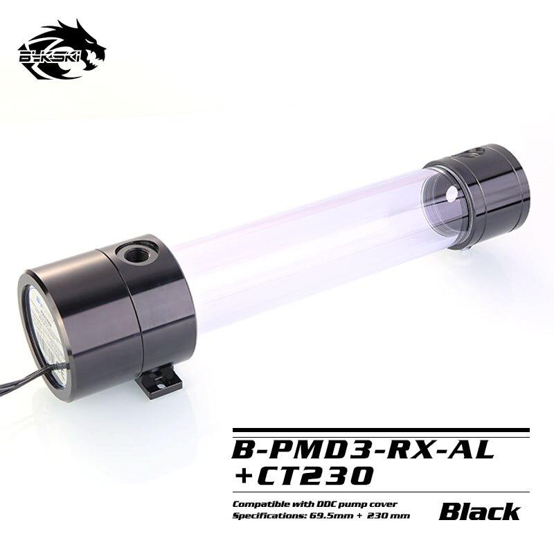Bykski Boîte Pompe Réservoir 2 DANS 1 DDC Pompe 6 mètres 600L/H 120mm 170mm 230mm réservoir B-PMD3-RX-AL