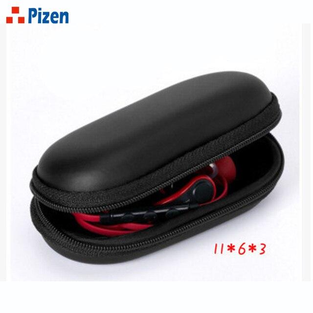 PZ Pouch Elliptical EVA Storage Cases Portable Headphone Case Bluetooth  Cellphone USB Chargers Cables Headphone Cable
