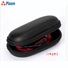 PZ Pouch Elliptical EVA Storage Cases Portable  Headphone Case bluetooth Cellphone USB Chargers Cables Headphone Cable Mp3 Keys
