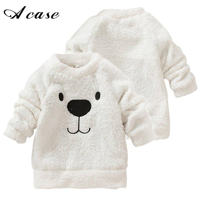 68e162c7e 2018 Hot New Children Baby Clothing Lovely Cute Bear Furry Thick ...