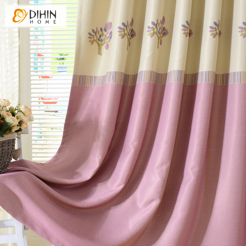 Aliexpress.com : Buy DIHIN 1 PC Ready Made Curtains Tree Pattern ...