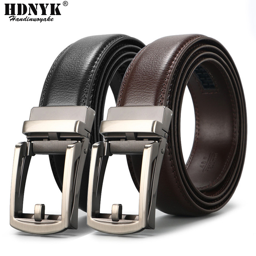 Hot Sell Famous Brand Belt Men Top Quality Genuine Luxury Leather Belts for Men,Strap Male Metal Automatic Buckle