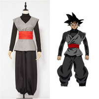 CIBO Anime Dragon Ball Z Zamasu Kai Super Son Goku Saiyan Goku Black Cosplay Costume Mens Womens Unisex Adult Halloween Suit