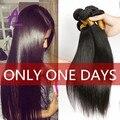 Современный Шоу Волос Продукты Малайзийские Виргинские Волосы Прямые, В Продаже Дешевые Malasian Девы Волос 4 Bundle Сделки, Человека волосы Ткет