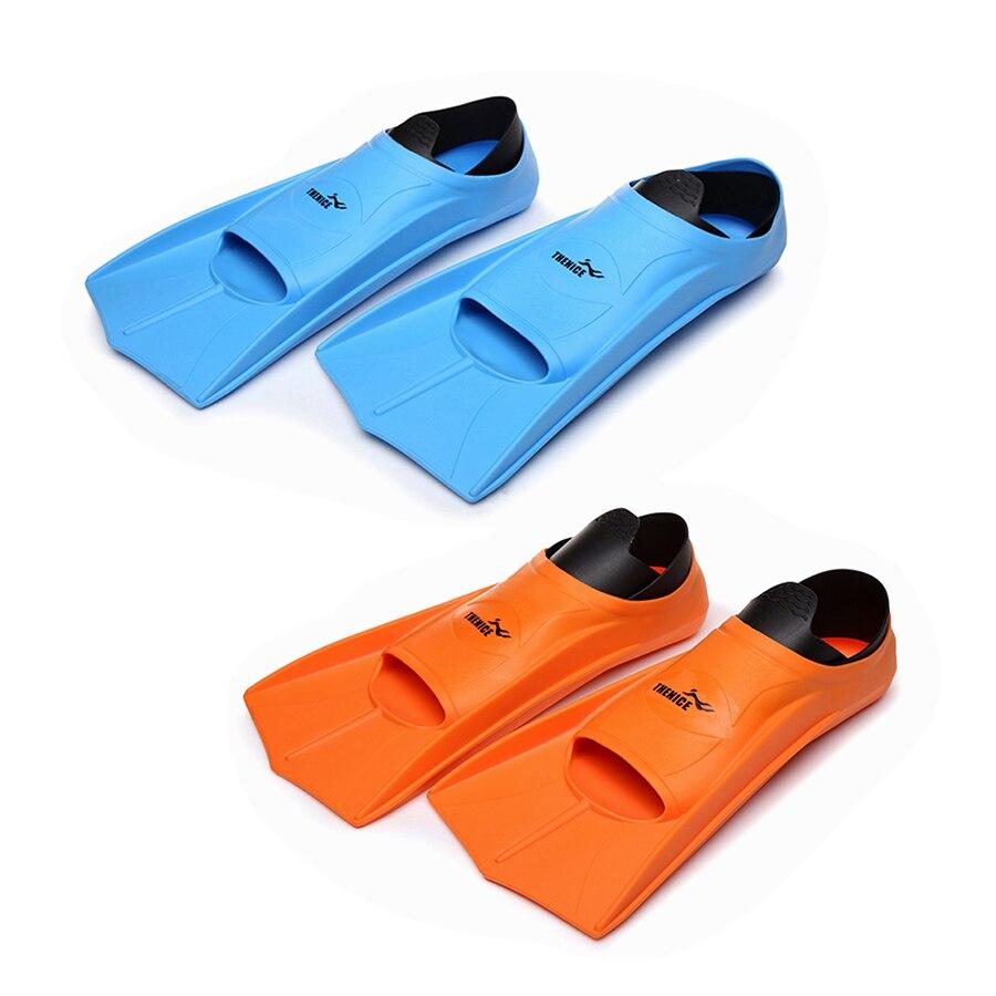 Niveau débutant Courtes palmes de natation adulte plongée flipper équipement de plongée plongée