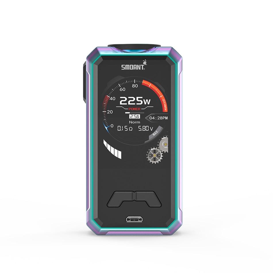 Original Electronic Cigarette Smoant Charon Mini 225w TC vape mod dual 18650 battery smoant box mod 2.0 inch screen mod vs Naboo