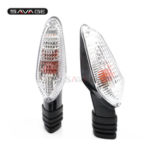 цена на Turn Signal Indicator Light For DUCATI Streetfighter 848 1099S / Multistrada 1200 Motorcycle Accessories Front/Rear Blinker Lamp