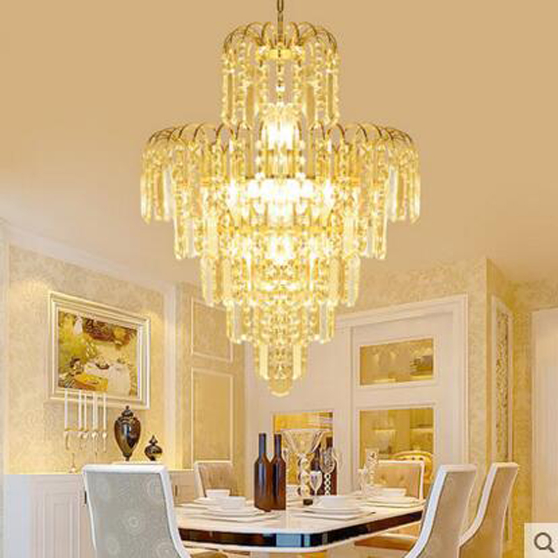 Modern golden chandelier round living room lamp personalized dining chandelier restaurant lamps bedroom stairs lighting fixture виктор зайцев блины блинчики оладьи и оладушки