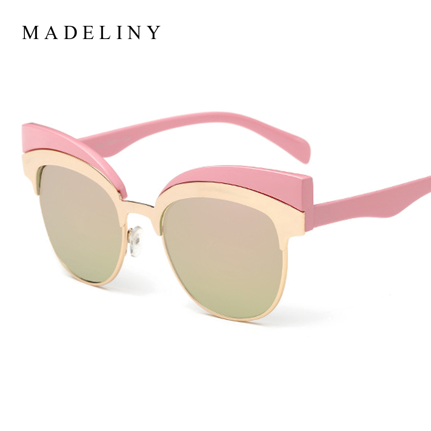 e843057bae06c Newest Fashion Cat Eye Sunglasses Women Brand Designer Alloy Frame Vintage  Sun Glasses Oculos De Sol Feminino MA359