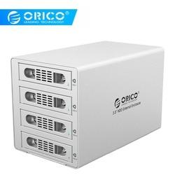 ORICO 3549RUS3 алюминиевый корпус для внешнего док-станции 4*8TB HDD 4*8TB SATA2.0 USB3.0 и eSATA HDD