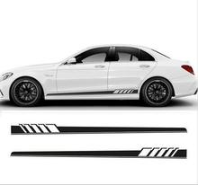 82 Full Size Long Stripe Decals Graphics Racing Car Side Body Vinyl Sticker