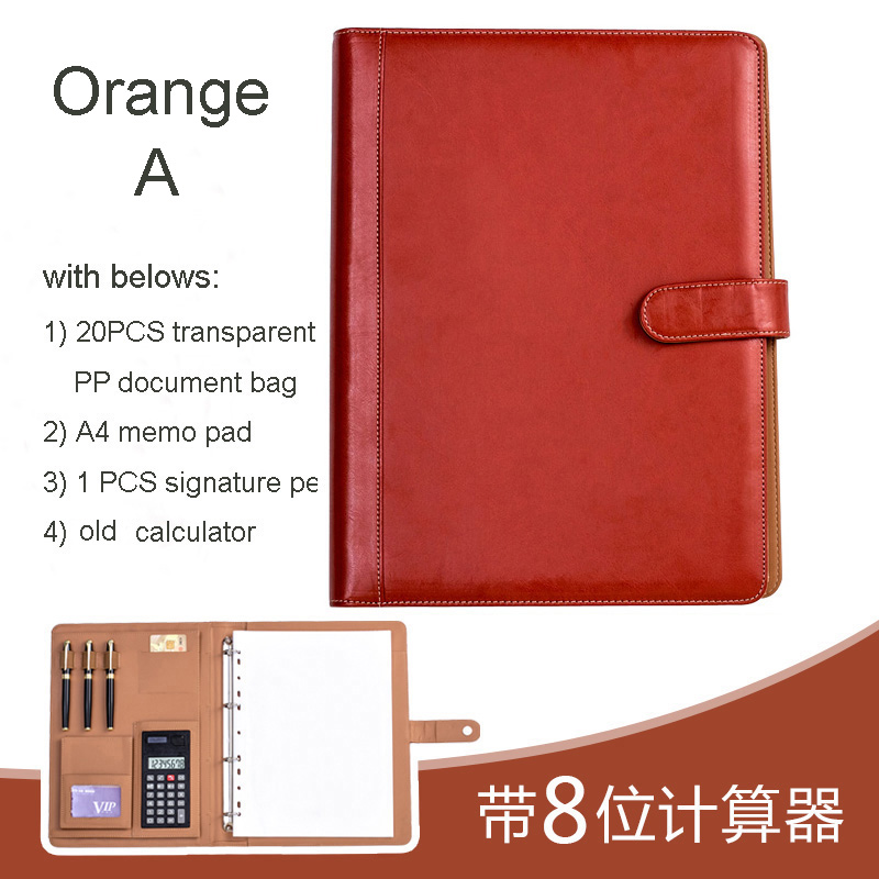 EXKSHEN A4 File Folder Portable Document Folder With Snap Button File And Paper Organizer Office And School Supplies 1163