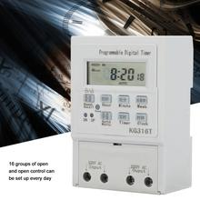 Digital Timer Switch AC 220V 1W 25A Timer Switch Programmable Control Timing Timer Switch цена