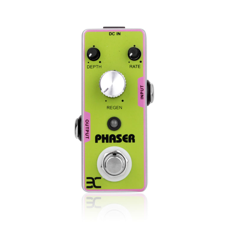 Guitar Effect Pedal Part Phase Monoblock PHASER Guitar Pedal Bass Effect Pedal Power 9V Subtle Sound Effects Support Wholesale