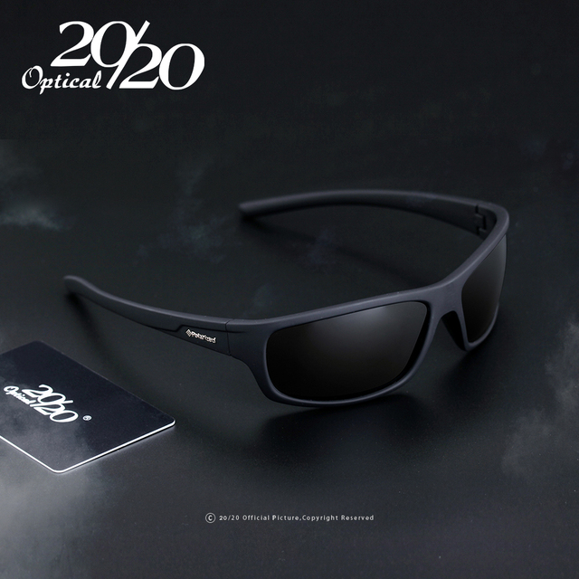 20/20 Optical Brand New Polarized Sunglasses Men Fashion Male Eyewear Sun Glasses Travel Oculos Gafas De Sol PL66