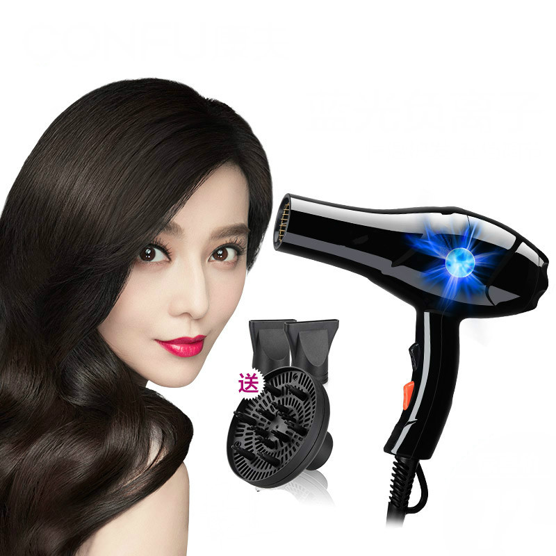 Hair Dryers dryer high-power salon home student air duct negative ion cool and hot цена и фото