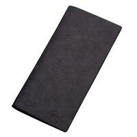 Fashion Long Wallets Slim Vintage Brand Pu Leather Soft Scrub Purse Card Holder Clutch Dollar Price