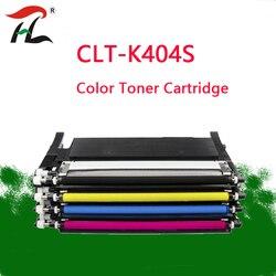 YLC CLT-K404 Per Compatibile Samsung CLT 404 K404S CLT-K404S CLT-Y404S CLT-M404S CLT-C404S Laser Cartuccia di Toner a Colori