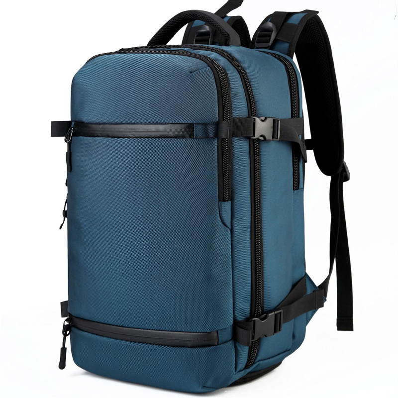 OZUKO USB sac à dos hommes voyage Pack sac homme bagages affaires sac à dos grande capacité étanche sac à dos pour ordinateur portable avec chaussures sac - 3