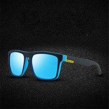 UCOOL  Brand Design Polarized Sunglasses Men Driver Shades Male Vintage Sun Glasses For Spuare Mirror Summer UV400 Oculos