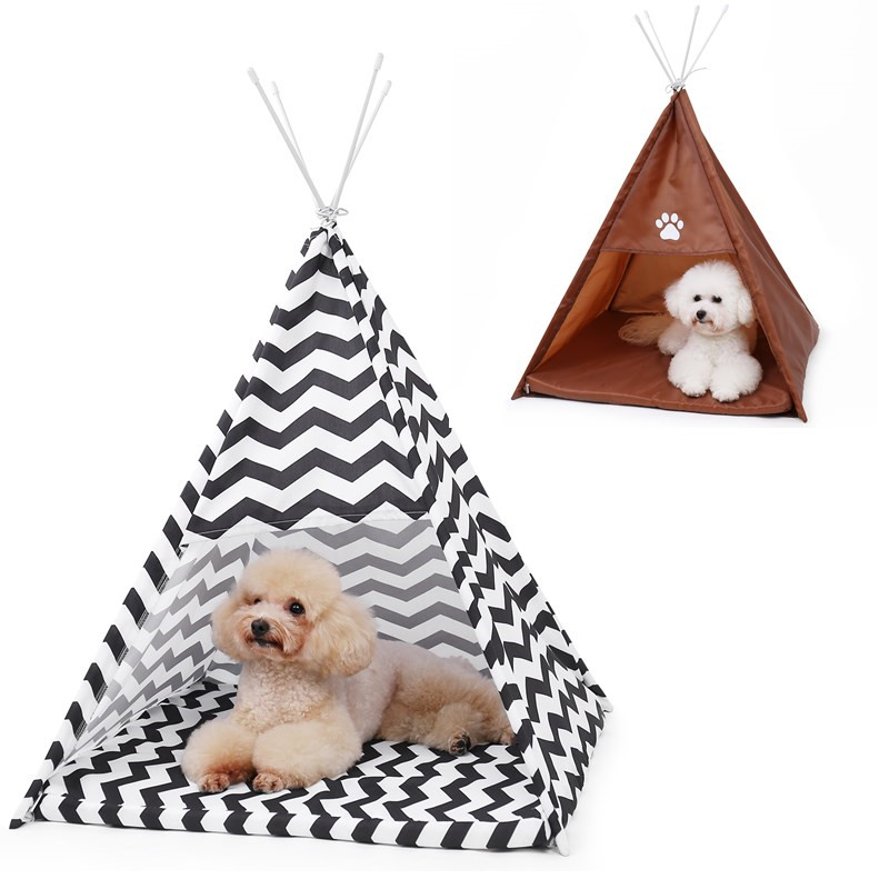Pet House Tent Shaped Pet Cozy House Cat Home Small Dog Cat Foldable Bed Cat House Puppy Kitten Bed Animals Home Products