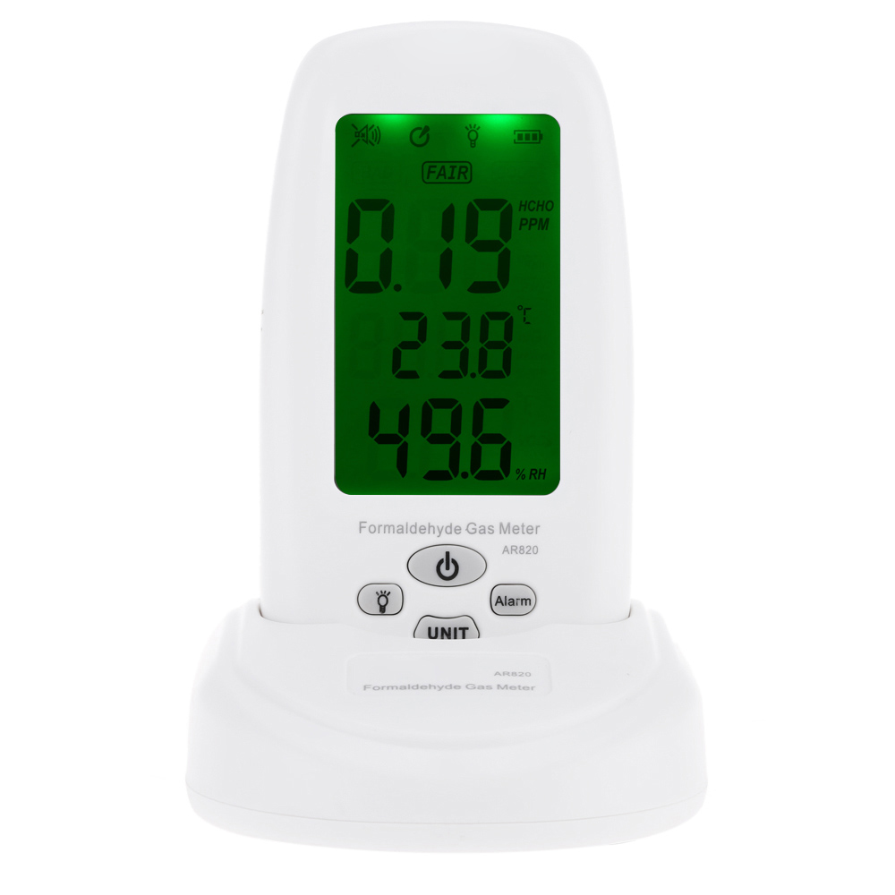 ФОТО Smart Sensor AR820 Air Quality Monitor Indoor Digital Formaldehyde Detector Tester Thermometer Hygrometer Analyzer Gas Detector