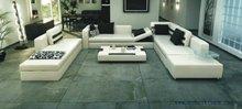 Free Shipping Villa Sofa, Large Size Genuine Leather Sofa, U Shaped Sofa, Sofa Bed , Luxury Model S8562