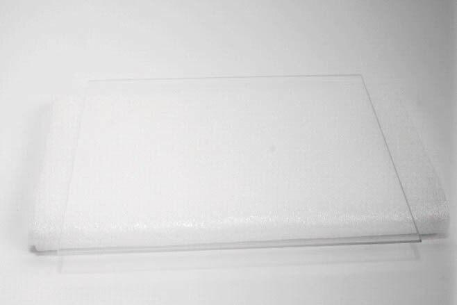 Makergear M2 3D printer Parts 8 x 10 Borosilicate Glass Build Surface