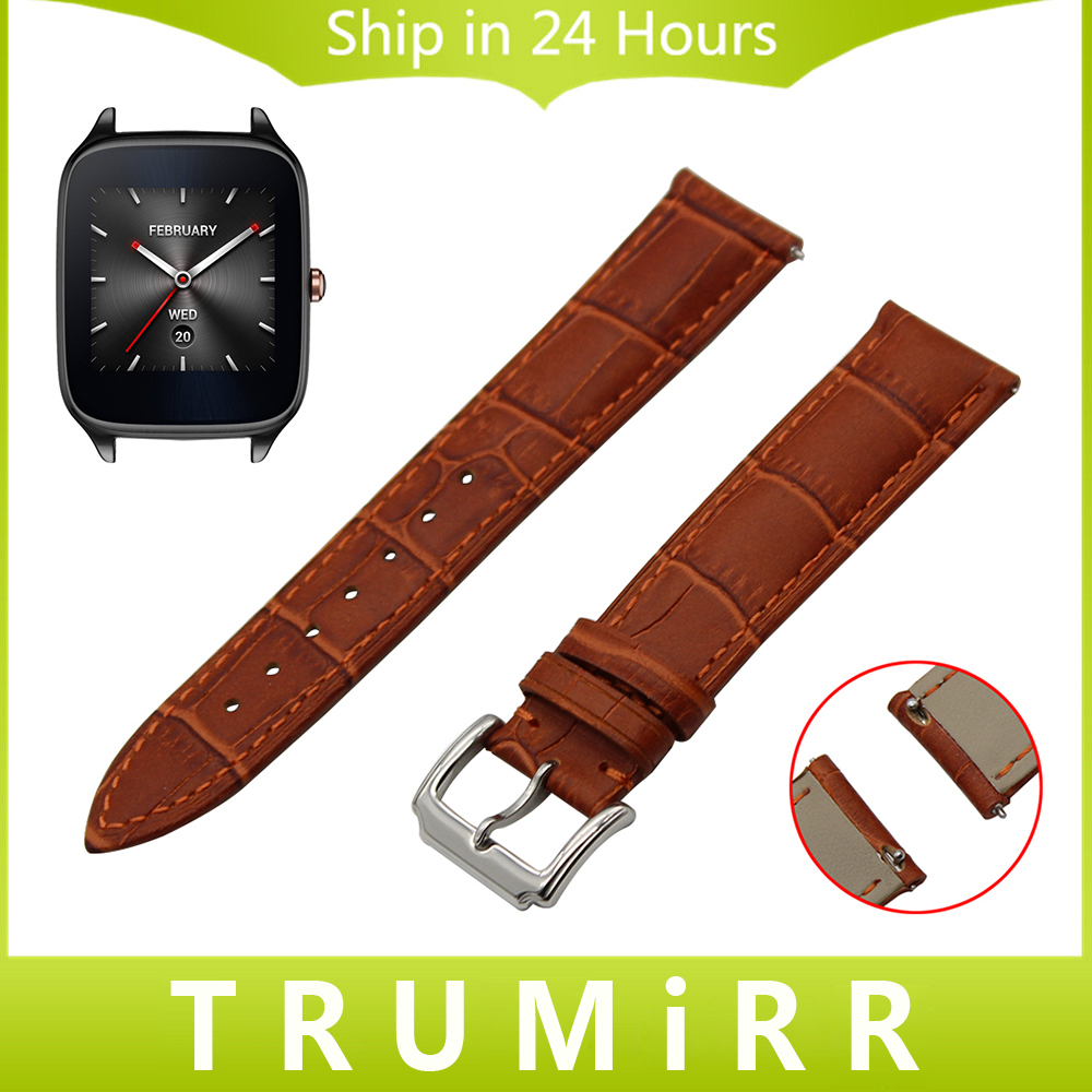 22mm Quick Release Strap for Asus ZenWatch 1 2 Men WI500Q WI501Q LG G Watch W100