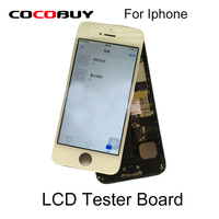 LCD Screen Tester Board With Back Housing Cover For Iphone 5S 6G 6Plus 6S 6S Plus