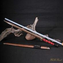 Handmade Chinese Han Sword Folded Steel Decorative Pattern Blade Sharp Edge Real Sword Vintage Best Gift