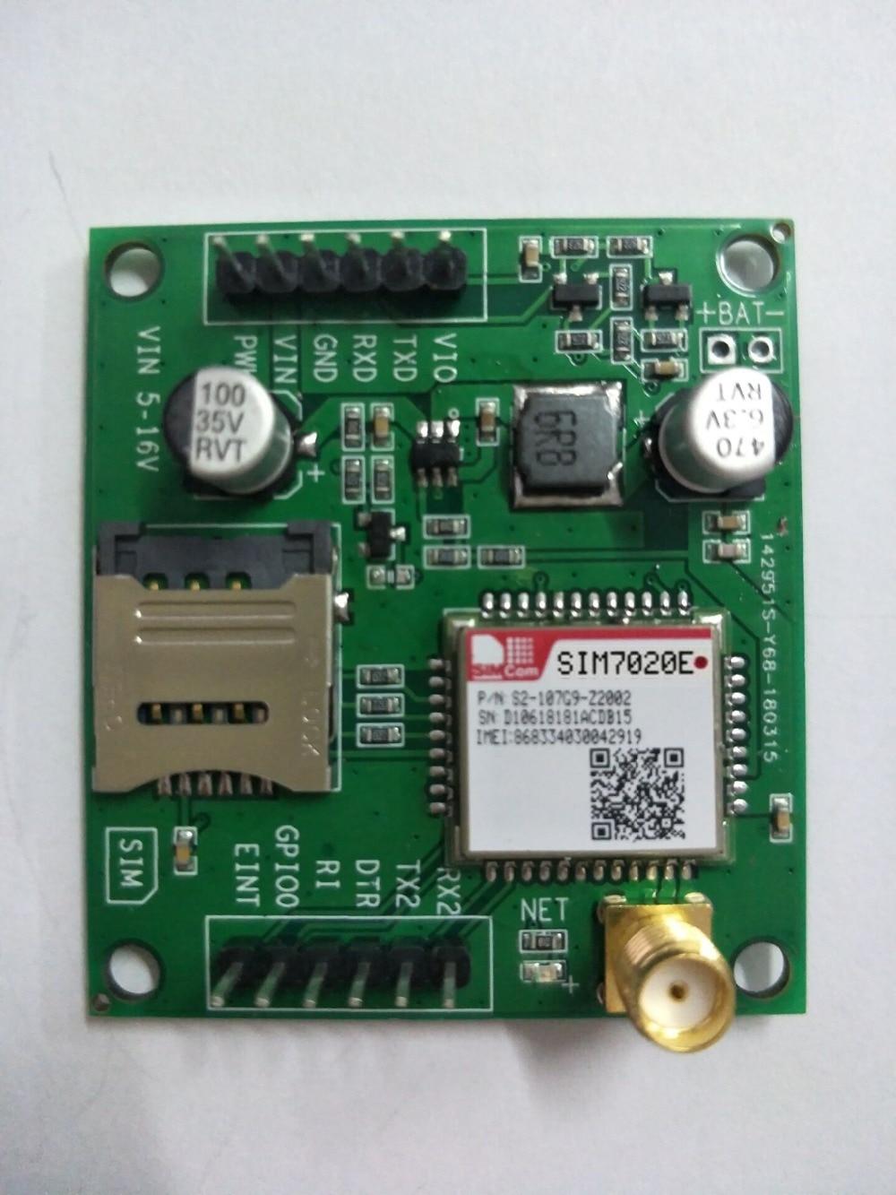 SIMCOM SIM7020 SIM7020E Development Board Multi-Band B1/B3/B5/B8/B20/B28 LTE NB-IoT M2M Module Compatible With SIM800C