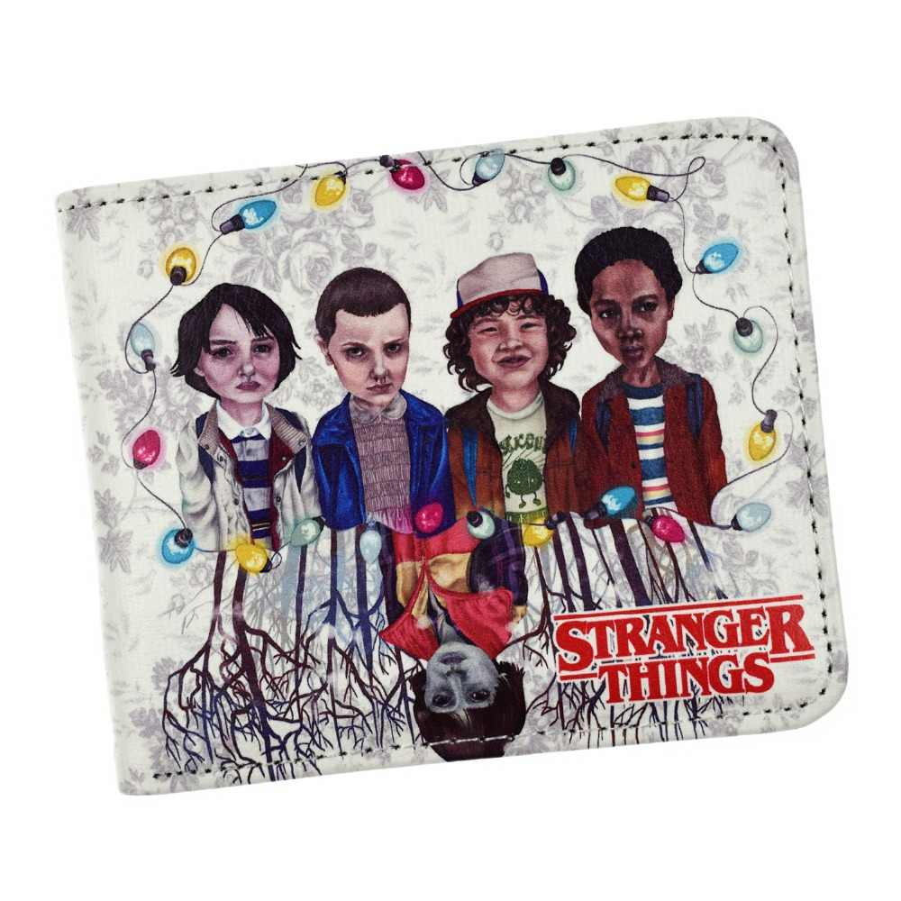 New Arrival Anime Stranger Things Wallet Coin Purse Cartoon Wallets