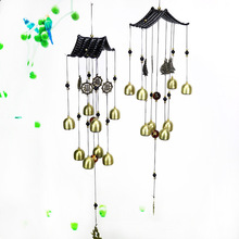 Фото - Vintage Copper Bell Wind Chime Metal Multi-tube Anti-rust Wind Chime Copper Alloy Pendant Lucky Lucky Charm Birthday Wishes 3 pieces wind chimes feng shui wind bell lucky wind chimes bell vintage dragon and fish feng shui hanging chime for good luck