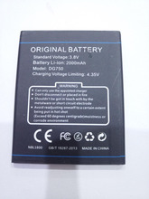 Original Battery for DOOGEE B-DG750 Smartphone 2000mAh Lithium-ion DG750 Mobile Phone battery