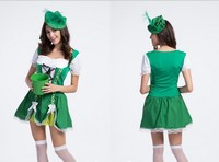 M XL Cosplay Costume OKTOBERFEST Beer Girl German Maid Dutch New in Stock Retail / Wholesale Halloween Chritmas Party costume