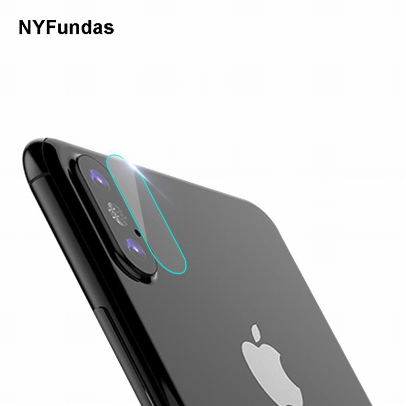 NYFundas 5PCS For iPhone X Back Camera Lens Tempered Glass