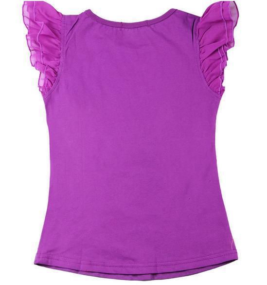 girls purple shirt