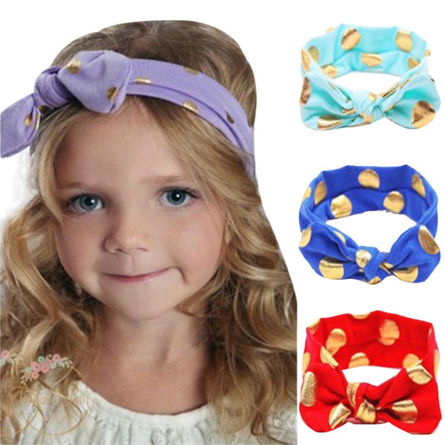 Wholesale Baby Girls Headwrap Bow Baby Headbands Fashion Jersey Knit  Headwrap Baby Turban Headband 12 Colors Hair Accessories f8a0a1479ec