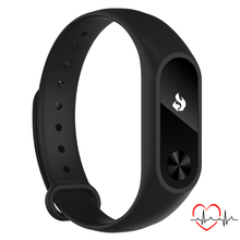 NEW Wrist band Smart bracelet for Smartphone with Bluetooth 4.0 Sleep Tracker Heart Rate Monitor black color R2 black
