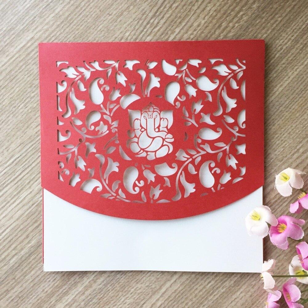 100pcs Pearl paper Craft India Ganesh Buddha Deity Elephant Hindou ...