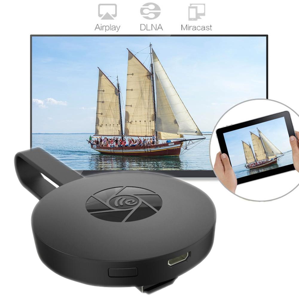 Nuevo Mirascreen G2 reflejo de pantalla 1080 p HDMI Media Player Dongle Smart TV Stick Android Apple TV Netflix, Youtube streamer
