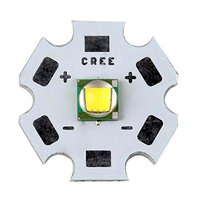 10PCS Cree XML T6 10W White Light LED Emitter Bead Mounted On 20mm PCB Flashligh